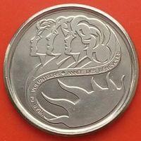 10 центов 2001 КАНАДА - Международный год добровольцев