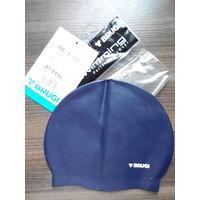 Силиконовая BRUGI шапочка для плавания подростковая