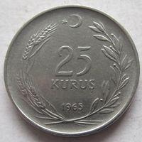 Турция 25 курушей 1965