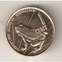 Сейшелы 1 цент 2016