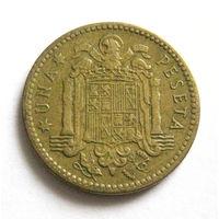 Испания 1 песета 1953