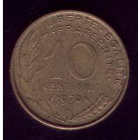 10 сантимов 1970 год Франция