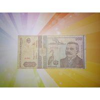 Румыния 200 лей 1992г