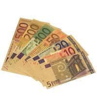 Евро Голд полный набор 5, 10, 20, 50, 100, 200, 500 (сувенирные для коллекции).