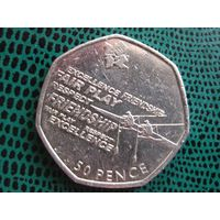 50 пенсов, Великобритания, 2011, Гребля