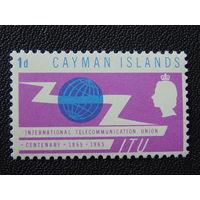 Британские Каймановы острова 1965 г.