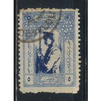 Турция Респ 1922 Солдат Стандарт #771