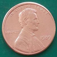 1 цент 1989 США
