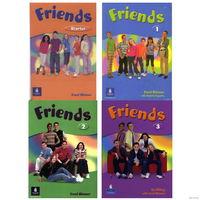 """Учебники английского языка для детей Friends - Starter, 1, 2, 3 + серия из 26 книг """"English. Читаем вместе"""""""