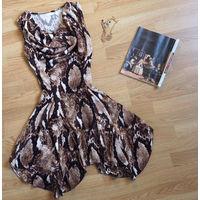 Платье трикотажное 42-44 размер
