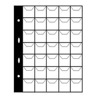 Листы для монет 35 ячеек (Midi Manufaktura).
