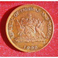 5 центов (Тринидад и Тобаго) 1998 / Райская птица