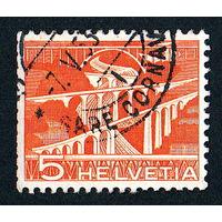 50: Швейцария, почтовая марка, 1949 год, номинал 5с, SG#511