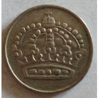 Швеция 25 эре 1955 серебро