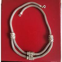 Украшение на шею, старая Индия, серебро