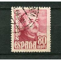 Испания - 1954 - Генерал Франко - [Mi. 1027] - полная серия - 1 марка. Гашеные.  (Лот 76o)