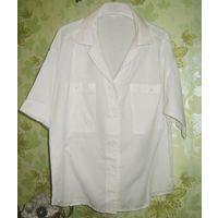 Блузки с коротким рукавом, р.52, 2шт.