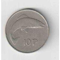 10 пенсов 1974 года Ирландии  30