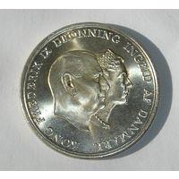 Дания 5 Крон 1960 Серебро (2)