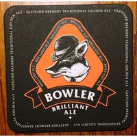Подставка под пиво Bowler Brilliant Ale No 2