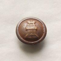 Пуговица чиновника РИ министерство юстиции 1858 - 1917 диаметр - 22мм
