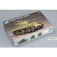 Американский танк M4A3 76(W) Sherman, сборная модель 1/72 Trumpeter 07226