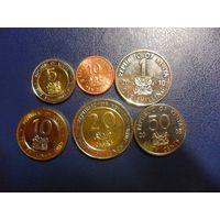 Кения 6 монет одним лотом