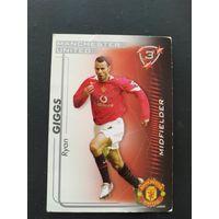 Ryan Giggs Manchester United Гиггс Манчестер Юнайтед 2005-2006