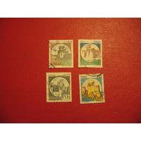Марки Замки Италии 1980 (750 - 1990) год Италия