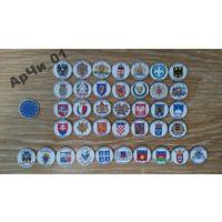 Гербы стран Евро союза, 39 монет