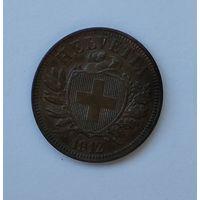 Швейцария 2 раппена, 1912 7-5-48