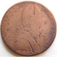 5. Англия, 1/2 пенса 1789 год, токен.