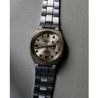 """Часы наручные мужские """"MORTIMA"""" 17 камней, импортные, браслет советский."""
