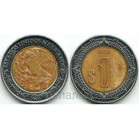 Мексика 1 peso 2008