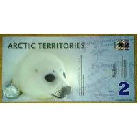 Арктические территории 2$ 2010г.