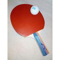 Ракетка ATEMI Challenge 500 и шарик для настольного тенниса