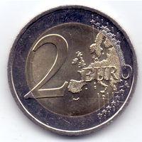 Кипр, 2 евро 2018 года.
