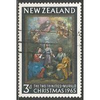 Новая Зеландия. Рождество. 1965г. Mi#445.