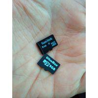 Флэш карта MicroSD flash накопитель 8 Gb Class 6