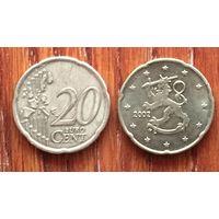 Финляндия, 20 евроцентов 2002