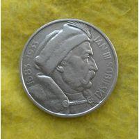 10 злотых 1933 г Ян Собески Редкая Сохран