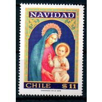 Новый год Чили 1978 год 1 чистая марка