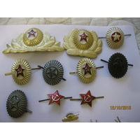 Военные кокарды эмблемы