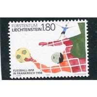 Лихтенштейн. Чемпионат мира по футболу. Франция 1998