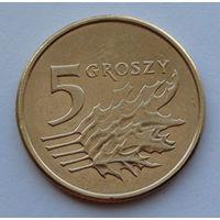 Польша 5 грошей. 2009
