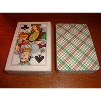Игральные карты Времена года, 1984г. первоначальные