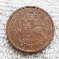 2 евроцента 2015 Литва #04