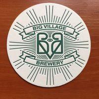 Подставка под пиво Big Village Brewery /Краснодар, Россия/