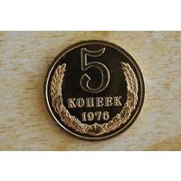 5 копеек 1976 наборная!!!