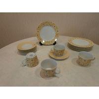 Сервиз чайный фарфор 16 предметов La Vie Франция.